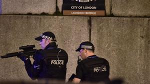 Reports peaked in June, when the London Bridge and Finsbury Park attacks took place (Dominic Lipinski/PA)