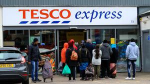 Tesco has vowed to create 20,000 temporary roles to help during the coronavirus outbreak (Mike Egerton/PA)