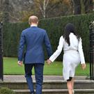 Harry and Meghan have quit completely as royals (Dominic Lipinski/PA)