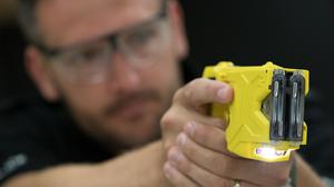 An extra 8,000 Tasers are to be made available to police officers in England and Wales (Aaron Chown/PA)