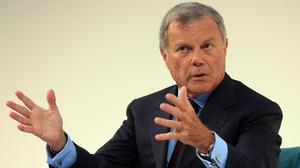 Sir Martin Sorrell and his wife have separated (Jonathan Brady/PA)