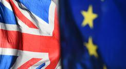 Irish businesses are more alarmed by Brexit than even those in the United Kingdom, according to a new global survey by the US National Bureau for Economic Research (Kirsty O'Connor/PA)