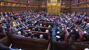 A House of Lords debate (House of Commons/PA)