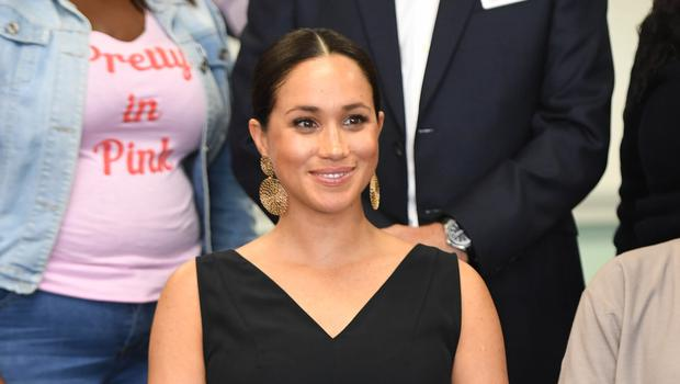 The Duchess of Sussex made a private visit to the memorial (PA)