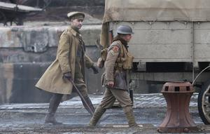 Some of the Sir Sam Mendes's film 1917 was shot at Govan Graving Docks (Andrew Milligan/PA)