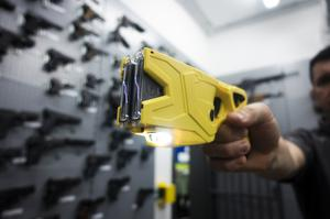 Police could apply for Home Office funding to buy more Tasers (Durham Police/PA)