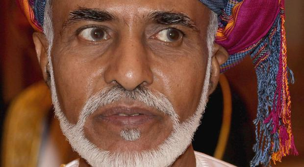 The Sultan of Oman, His Majesty Sultan Qaboos bin Said has died aged 79 after suffering from cancer (Chris Jackson/PA)