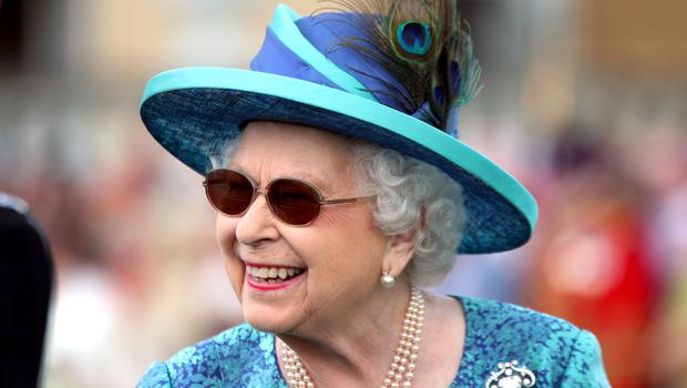 The Queen at a garden party at Buckingham Palace in London in May 2018 (Yui Mok/PA)