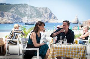 The island of Ibiza, where former prime minister David Cameron and his wife Samantha are shown, hosts significant numbers of British tourists every year (Stefan Rousseau/PA)