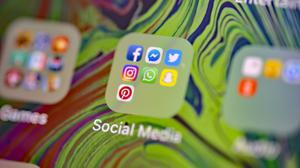 The proportion of people using social media to follow news stories has fallen, according to Ofcom (Nick Ansell/PA)