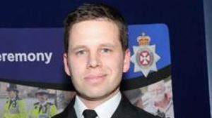 Wiltshire Police undated handout photo of Detective Sergeant Nick Bailey who rushed to the aid of a Russian ex-spy targeted with a nerve agent (Wiltshire Police/PA)