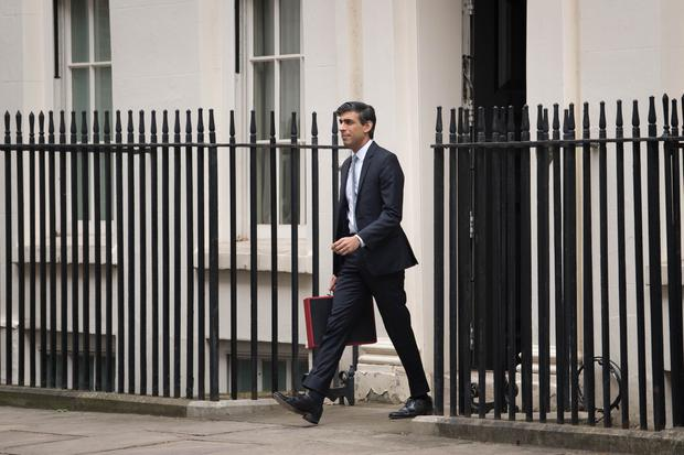 Chancellor Rishi Sunak had to reconcile the need to pay out to get the UK through the Covid-19 pandemic, and the reality that taxes will have to rise to help the government balance the books in future. (Stefan Rousseau/PA)