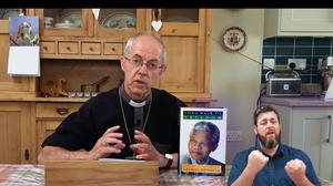 The Archbishop of Canterbury speaks at the virtual school's first assembly (YouTube/Oak Academy