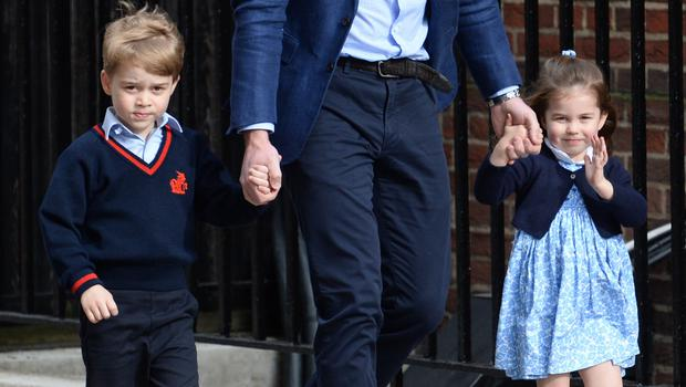 Prince George and Princess Charlotte will be among the bridesmaids and page boys (Kirsty O'Connor/PA)