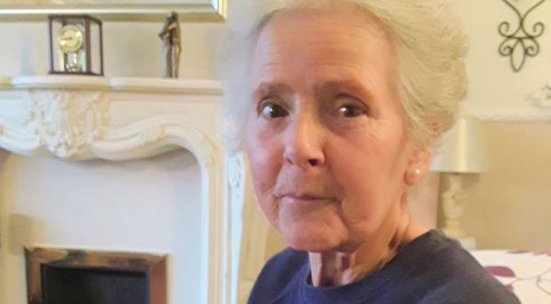 Sandy Seagrave, 76, one of two women killed outside a semi-detached house in a quiet street in Crawley Down (Sussex Police)
