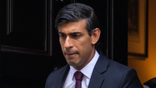 Chancellor Rishi Sunak leaves No 11 Downing Street for the House of Commons to give MPs details of his Winter Economy Plan (Dominic Lipinski/PA)