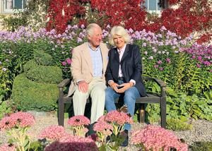 Charles and Camilla, pictured in a garden at Birkhall, will spend Christmas at their Gloucestershire home (The Prince of Wales and The Duchess of Cornwall/Clarence House/PA)