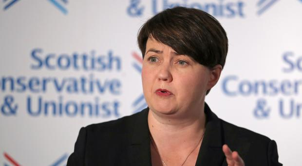 Former Scottish Conservative leader Ruth Davidson said she does not think the SNP will win 50 seats in the General Election (Jane Barlow/PA)