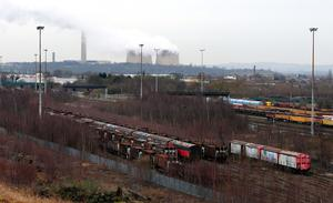 Toton sidings near Nottingham, proposed site for the East Midlands Hub (Rui Viera/PA)