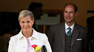 The Earl and Countess of Wessex thanked forum members by video (Andrew Milligan/PA)