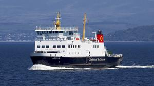Ferries have been told to no longer take 'non-essential' travellers to Scotland's islands in the wake of the coronavirus pandemic. (Graham Wilson/Caledonian MacBrayne/PA)