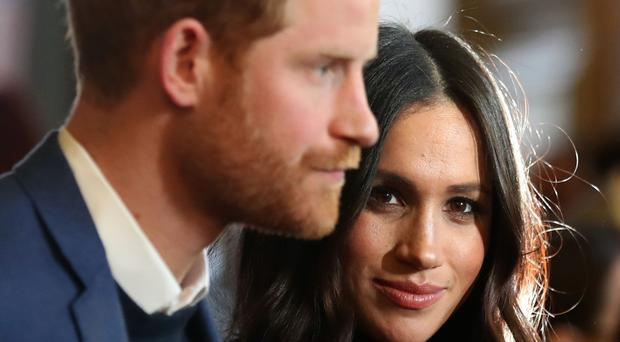 The Duke and Duchess of Sussex plan to step back as senior royals (Andrew Milligan/PA)