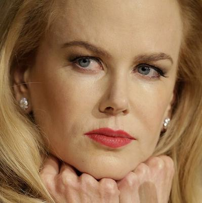 Actress Nicole Kidman during a press conference for the film Grace of Monaco at the 67th international film festival in Cannes. The film about the life and death of Hollywood princess Grace Kelly has been panned by some reviewers after it opened the festival .