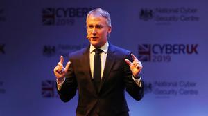 Ciaran Martin spoke during a Five Eyes session (Andrew Milligan/PA)
