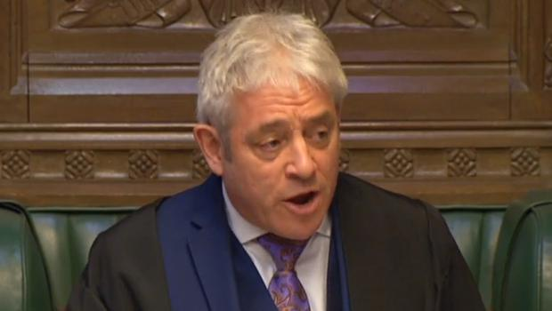 Speaker John Bercow has been accused of a foul-mouthed attack on a Cabinet minister (PA)