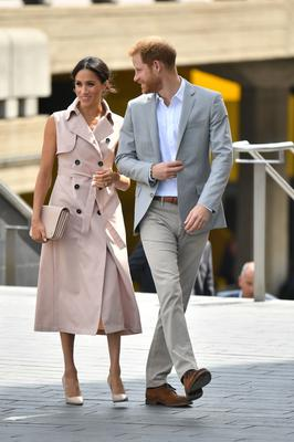 The Duke and Duchess of Sussex have a fractious relationship with some parts of the media (Dominic Lipinski/PA)