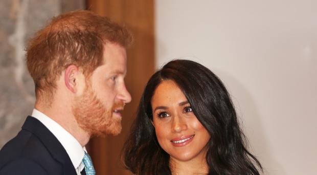 The Duke and Duchess of Sussex are keen to promote positive news stories (Jonathan Brady/PA)