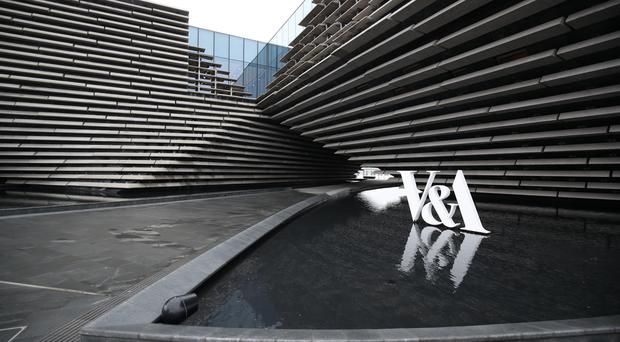 More than one million people have travelled to Dundee by train in the year since VandA Dundee opened (Jane Barlow/PA)