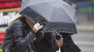 The Met Office has warned that this week will begin with an unseasonably windy spell and even heavy rain