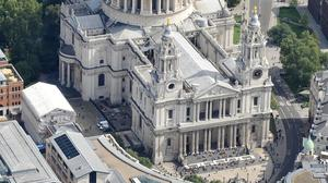 The service will take place at St Paul's Cathedral in central London