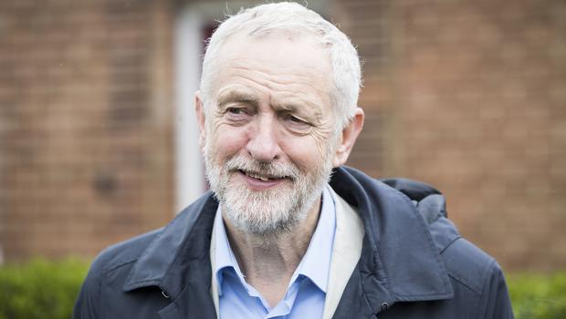 Jeremy Corbyn, who has been accused of building a reputation as a humanitarian 'on false premises'