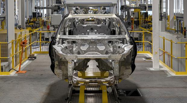Aston Martin has officially opened its new manufacturing facility at St Athan in South Wales (Aston Martin/PA)