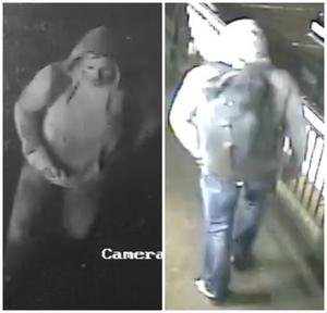 Police in Edinburgh have released two CCTV images of James Cornforth in their efforts to trace him (Police Scotland/PA)