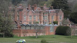 Chequers, in Buckinhamshire, where Prime Minister Boris Johnson is recuperating (Steve Parsons/PA)