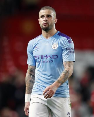 Manchester City's Kyle Walker was criticised for holding a party (Martin Rickett/PA)