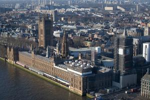 Work is expected to continue at the Palace of Westminster for up to six years (Aaron Chown/PA)