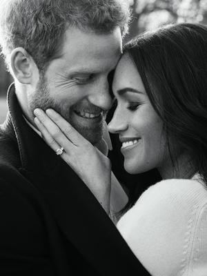 Harry and Meghan will promise to love and cherish one another when they say their vows (Alexi Lubomirski/PA)