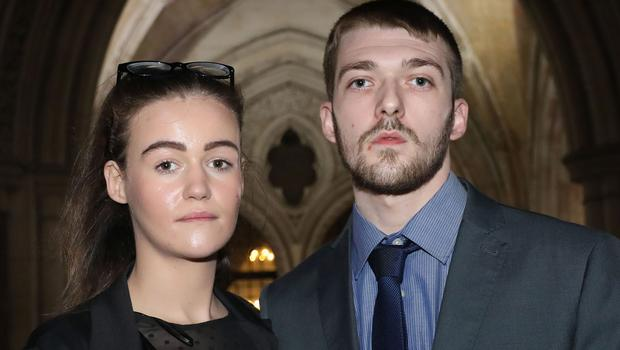 Tom Evans and Kate James had fought to take their son to Rome (Philip Toscano/PA)