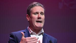 Labour leader Sir Keir Starmer made the comments in an interview with ITV news on Thursday (Jane Barlow/PA)