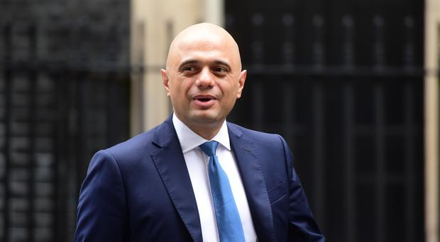 Chancellor of the Exchequer Sajid Javid (David Mirzoeff/PA)