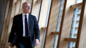 Deputy First Minister John Swinney confirmed five payments have already been made to in-care abuse survivors (Jane Barlow/PA)