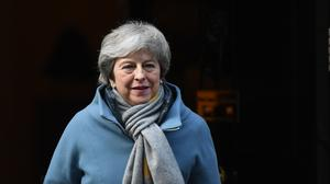 Theresa May has made clear that she hopes to bring her Agreement back to the Commons by March 20 (Stefan Rousseau/PA)