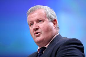 Ian Blackford said Scotland has a mandate for a second independence referendum (Jane Barlow/PA)