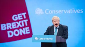 This year's Conservative Party conference will mainly take place online (Stefan Rousseau/PA)