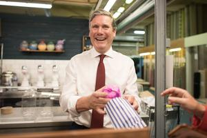 Labour leader Sir Keir Starmer will be holidaying in the UK (Stefan Rousseau/PA)