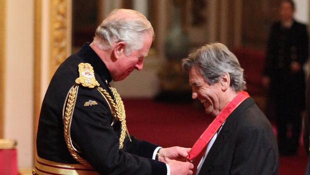 Melvyn Bragg is made a Companion of Honour by the Prince of Wales (Yui Mok/PA)